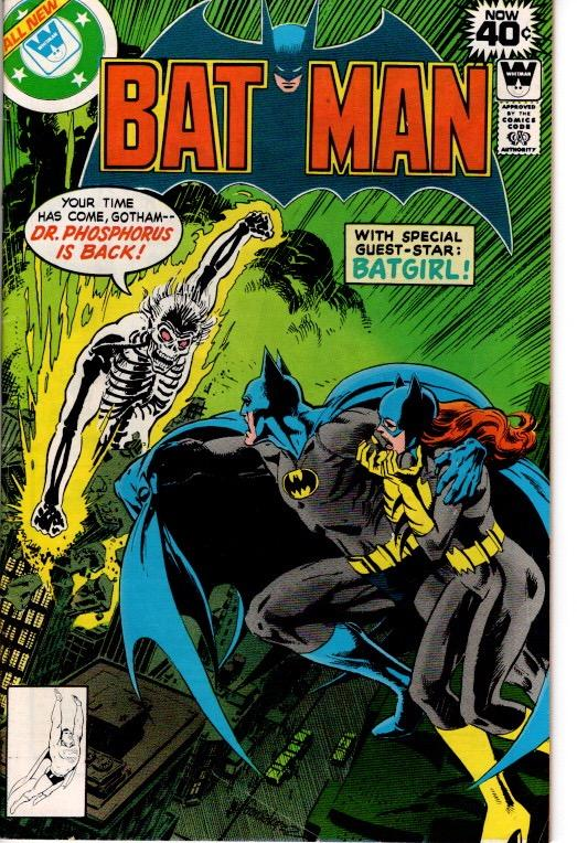 BAT MAN #311 WHITMAN VARIANT FIN3 $5.00
