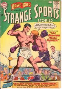 BRAVE & BOLD 47 G-VG STRANGE SPORTS STORIES  May 1963 COMICS BOOK