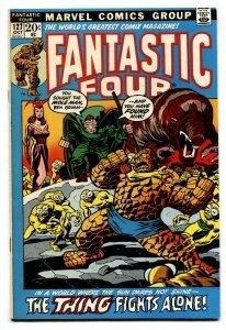 FANTASTIC FOUR #127 1972-Mole Man-THING- VF