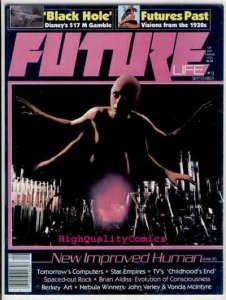 FUTURE #13, Sci-Fi Magazine, Disney, John Varley, VF/NM, 1978, Black Hole