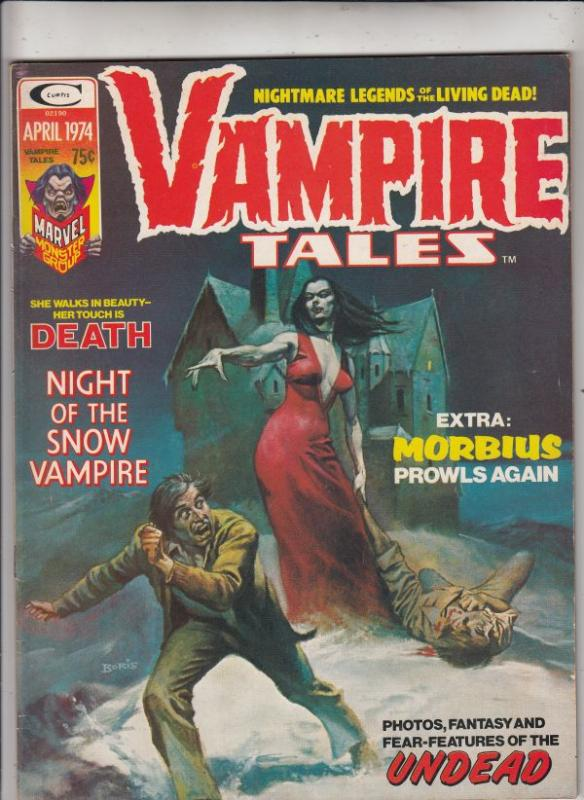 Vampire Tales #4 (Mar-74) VF/NM High-Grade Morbius the Living Vampire