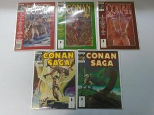 Conan Saga Lot (1987-93) 10 different issues 6.0 FN