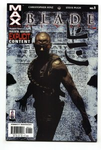 BLADE #1 2002 Low Print-Marvel Max-First issue-NM-