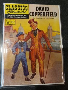 CLASSIC ILLUSTRATED #48 DAVID COPPERFIELD GOLDEN AGE CLASSIC