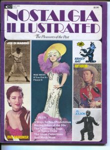 Nostalgia Illustrated 4/1975-Marvel-Joe DiMaggio-Mae West-Krazy Kat-Nancy Dre...