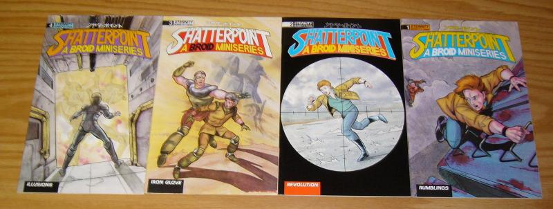 Broid: Shatterpoint #1-4 VF/NM complete series - tim eldred - manga comics set