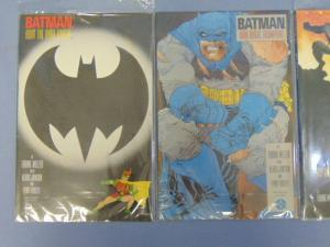 Three Frank Miller Batman 1st Print Graphic Novels Comic Books #2 #3 & #4 MINT