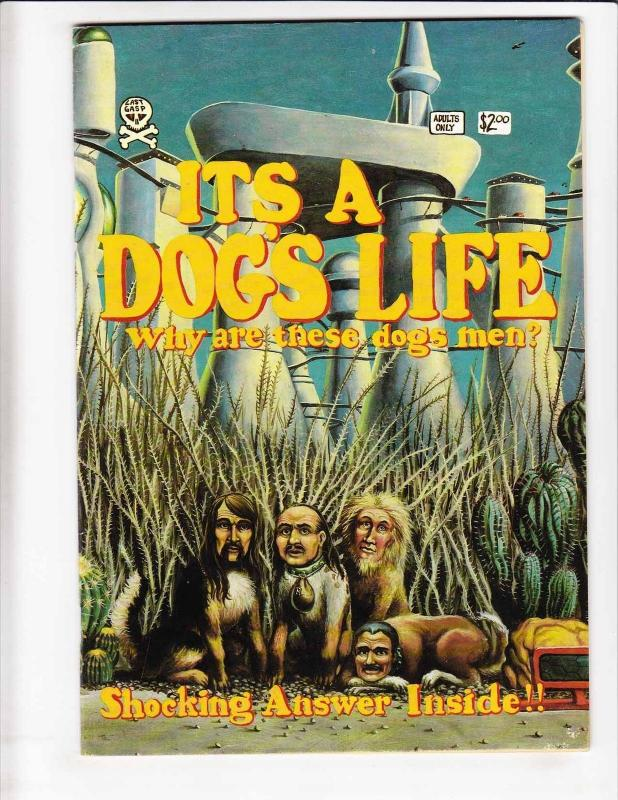 It's A Dog's Life #1 FN (1st) last gasp LARRY TODD underground comix print