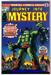 JOURNEY into MYSTERY #10, VF/NM, Steve Ditko, Dick Ayers,1972, more in store