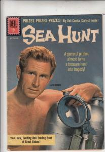 Sea Hunt #10 (Sep-61) FN/VF+ High-Grade Mike Nelson