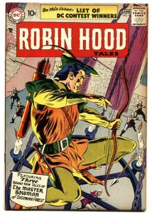 ROBIN HOOD TALES #9 Mohawk Valley Collection 1957 VF