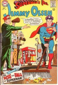 JIMMY OLSEN 107 VF   December 1967 COMICS BOOK
