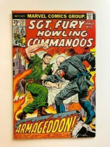 MARVEL #131 Sgt. Fury and His Howling Commandos VG (SIC004)