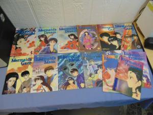 Rumiko Takahashi Mermaid's Saga Promise Mask Gaze Dream English Manga RARE OOP