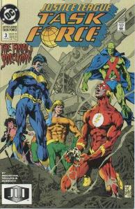 Justice League Task Force #3, VF+ (Stock photo)