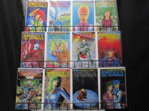 ROBOTECH II THE SENTINELS: THE MALCONTENT UPRISING (Eternity, 1989)#1-12 VF+