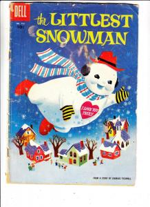 Four Color #755 (Dec-56) GD- Affordable-Grade The Littlest Snowman