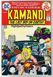 KAMANDI #19, FN+, Jack Kirby, Last Boy on Earth, 1972, more in store