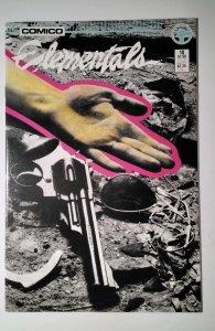 Elementals #10 (1986) Comico Comic Book J756