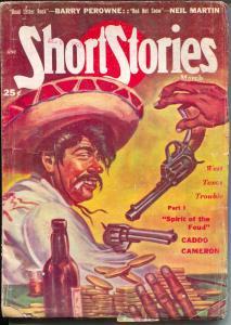 Short Stories 3/1950-Frank Kramer Mexican Bandit-pulp fiction-Neil martin-VG