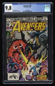 Avengers #226 CGC NM/M 9.8 White Pages Black Knight!
