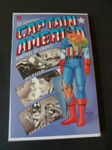 ​THE ADVENTURES OF CAPTAIN AMERICA SENTINEL OF LIBERTY BOOK THREE  TB