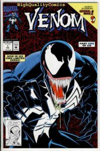 VENOM, LETHAL PROTECTOR #1, NM, Spider-man, Bagley, 1993, more SM in store