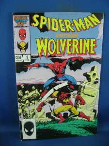 SPIDERMAN VERSUS WOLVERINE 1 VF+ 1987
