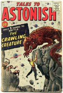 TALES TO ASTONISH #22-comic book 1961-MARVEL-KIRBY-DITKO-HORROR G