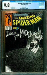 Amazing Spider-Man #295 CGC Graded 9.8
