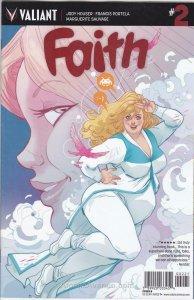Faith (Valiant) #2B VF/NM; Valiant | save on shipping - details inside