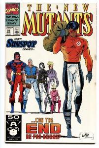 NEW MUTANTS #99 1991--1st appearance SHATTERSTAR - comic book