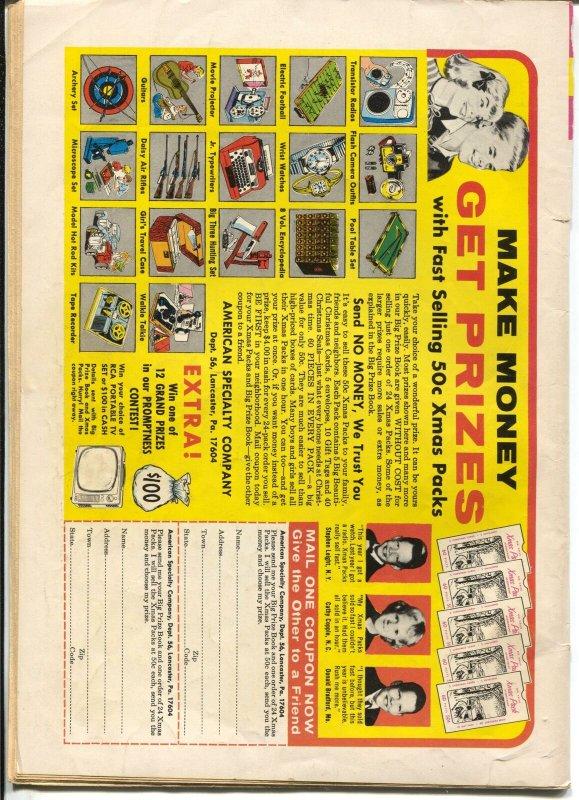 Cave Kids #11 1965-Gold Key-Pebbles-Bamm-Bamm-Hann-Barbera-VG