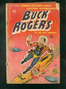 BUCK ROGERS #101 1951-TOBY COMICS-ROCKET COVER-2ND ISSUE-good G