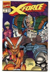 X-FORCE #1 Cable comic book FIRST GEORGE BRIDGE NM-