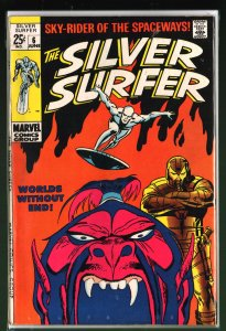 The Silver Surfer #6 (1969)