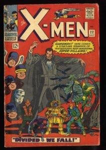 X-Men #22 VG 4.0