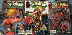 ULTRAGIRL (1996)   1-3  New Warriors, B.Kesel