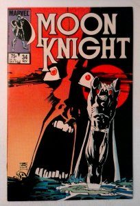 Moon Knight #34 Marvel 1983 VF/NM Bronze Age Comic Book 1st Print