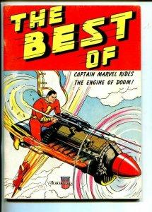 BEST OF CAPT MARVEL-1975-FANZINE-REPRINTS-CAPT MARVEL PREMIUMS-fn/vf