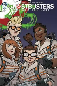 GHOSTBUSTERS 35TH ANNIV ANSWER CALL GHOSTBUSTERS GALLANT (2019 IDW PRESALE-04/17