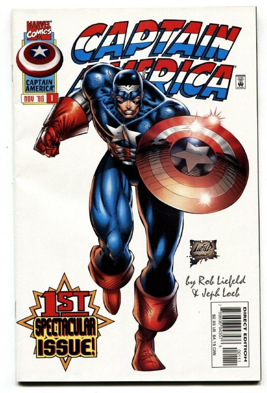 Captain America #1-Rob Liefeld 1996 First issue-Comic Book-Marvel