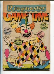 It's Game Time #3 1956-DC-puzzles-games-connect the dots-distributor return-FR