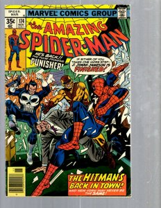 Amazing Spider-Man # 174 FN Marvel Comic Book MJ Vulture Goblin Scorpion TJ1