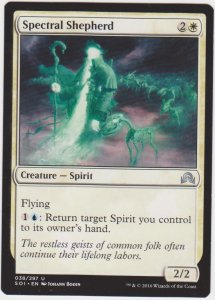 Magic the Gathering: Shadows Over Innistrad - Spectral Shepherd