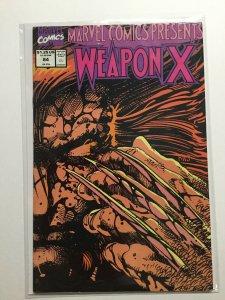 Marvel Comics Presents 84 Near Mint Nm Weapon X Marvel
