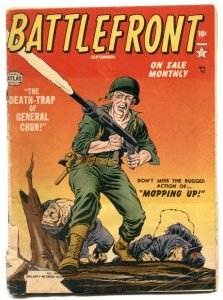 Battlefront #4 1952- Jerry Robinson- Atlas War comic G