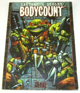 Bodycount (Image) TPB #1 (2nd) FN; Image | TMNT teenage mutant ninja turtles