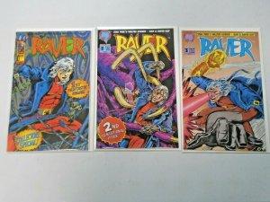 Raver Run #1-3 8.0 VF (1993)