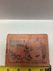 """Tijuana Bible Comic 1930s Ginger Rogers In A """" Flying      """"Golden Age"""